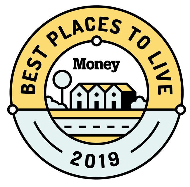Money Magazine Top 100 Place to Live 2019